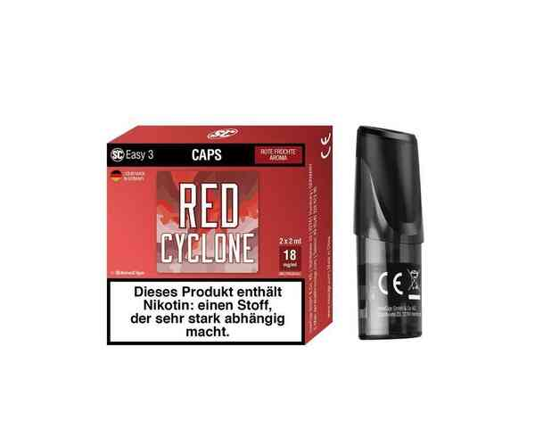 Red Cyclone - Rote Früchte 18mg/ml