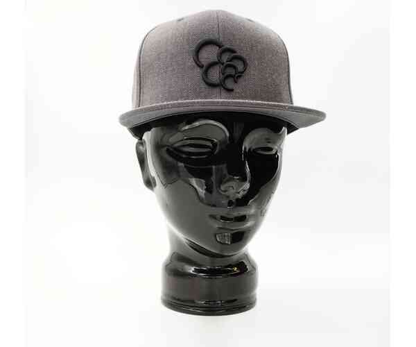 Snapback - VaperCap Bubbles Grey/Black
